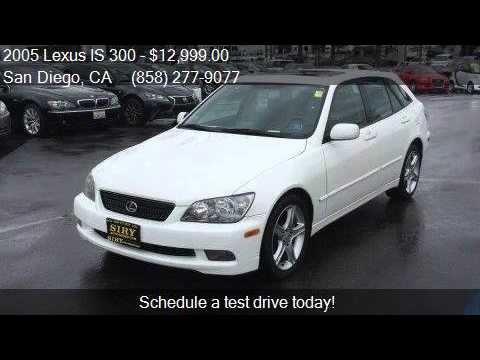 2005 lexus is 300 sportcross 4dr wagon for sale in san diego youtube. Black Bedroom Furniture Sets. Home Design Ideas