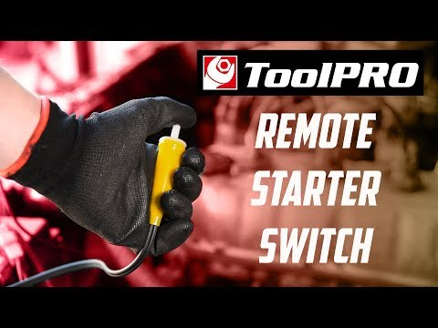 Toolpro Remote Starter Switch Youtube