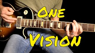 Queen - One Vision cover