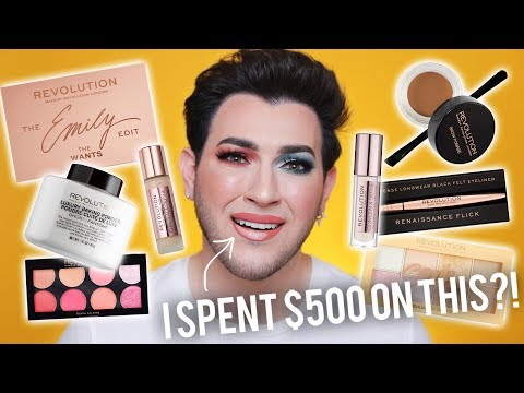 I SPENT $500 ON A MAKEUP REVOLUTION HAUL... AFFORDABLE ONE BRAND TUTORIAL!