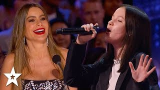 INCREDIBLE SINGER From Kazakhstan WOW Judges on AGT 2020 | Got Talent Global