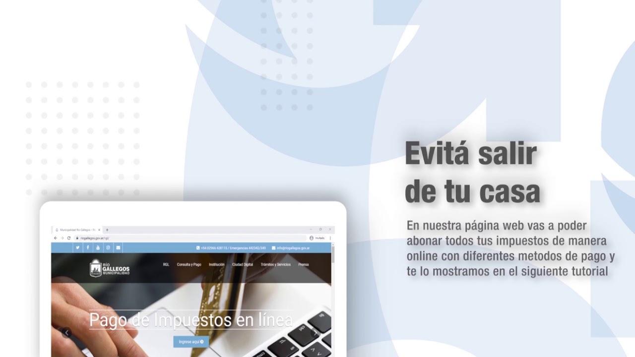 Municipalidad de Río Gallegos Pagos por medios electrónicos