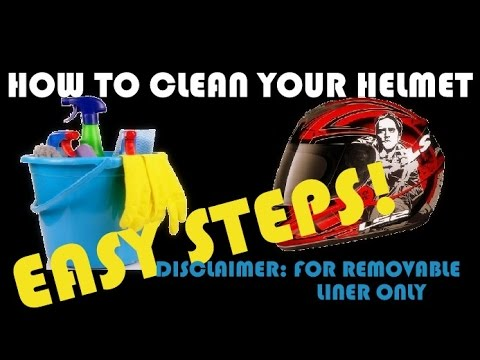 How to clean your helmet in 8 steps | Easy tutorial