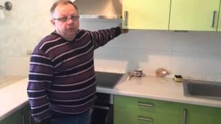 Кухня из пластика под заказ производства компании Гранд М
