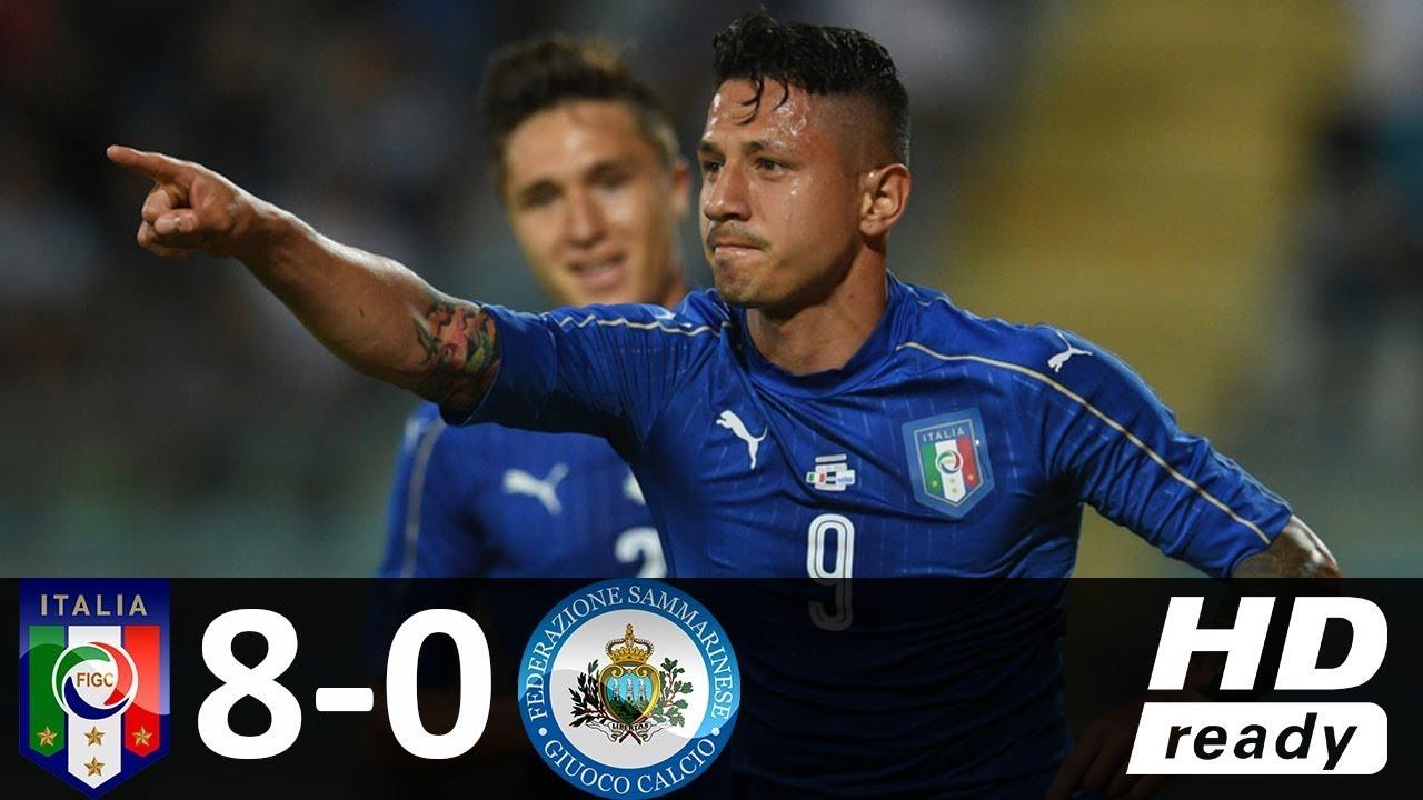 Download Italy vs San Marino 8-0 - Highlights & Goals - 31 May 2017 - International Friendly