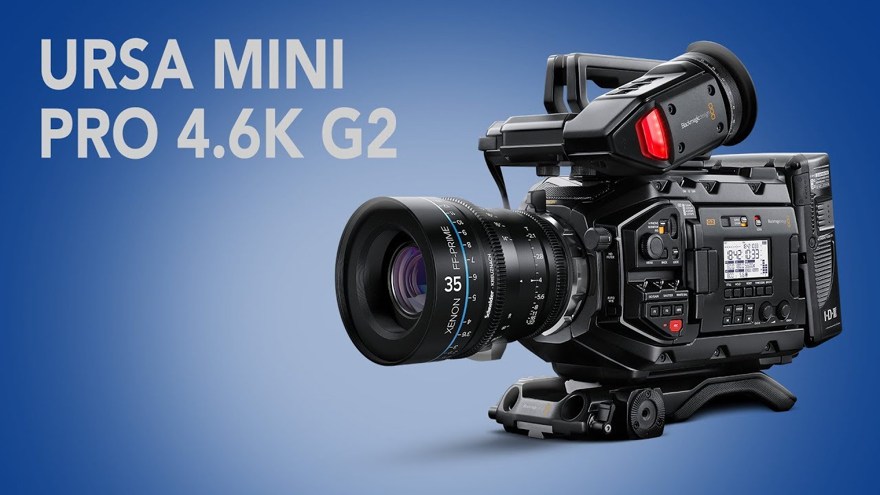 What To Expect From The Blackmagic Ursa Mini Pro 4 6k G2 Youtube