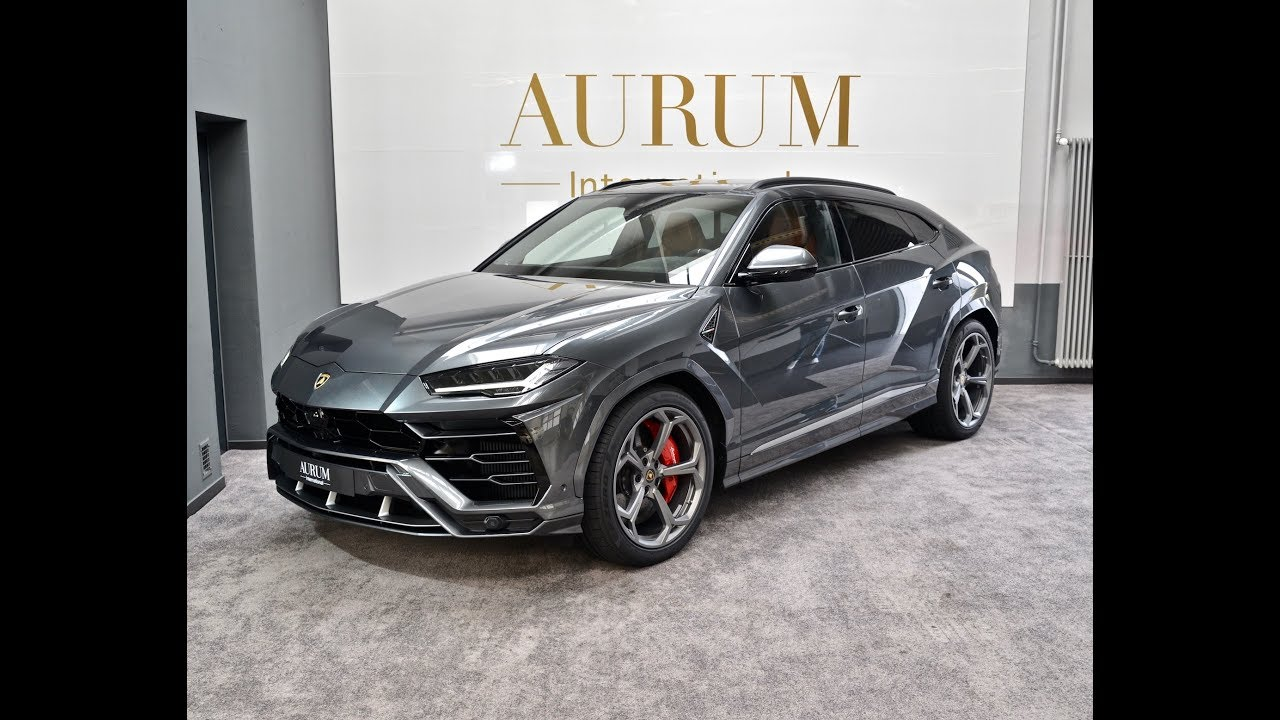 Lamborghini URUS *GRIGIO LYNX* (2019) SSUV Walkaround by AURUM International