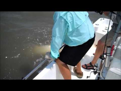 Tarpon Fishing South Carolina, Pawleys Island, Myrtle Beach, Georgetown South Carolina