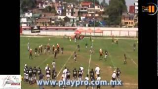 Play Pro Zorros Dorados de Xalapa vs Marinos de Coatzacoalcos Juv A CONA 2011.