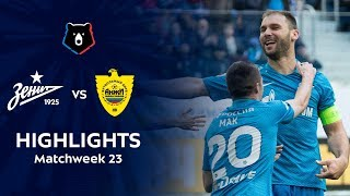 Highlights Zenit vs Anzhi (5-0)