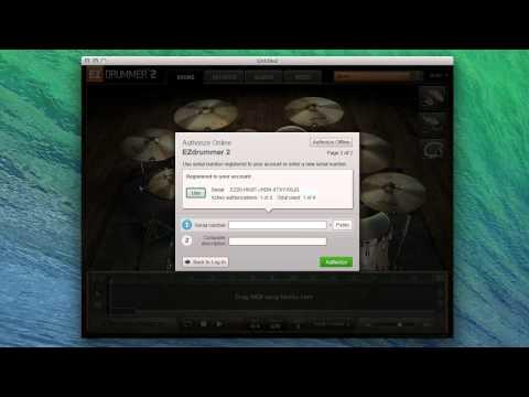 Ezdrummer Authorization Code Keygen Mac