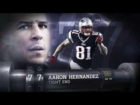 #77 Aaron Hernandez (TE, Patriots) | Top 100 Players of 2013 | NFL