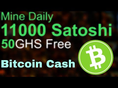 Bitcoin Cash Miner For Free Automatic | Earn 0.0025 BCH Per Day | No Investment
