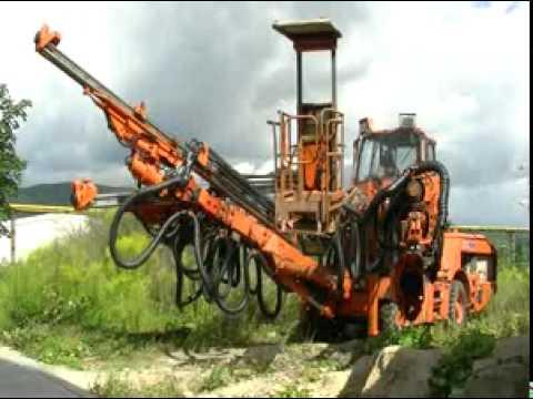 drill for tunel Sandvik (Tamrock) Axera T11S 315Ci, 2006, top condition, warranty !