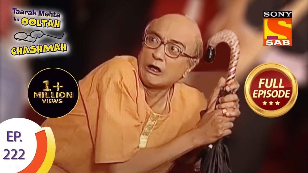 Taarak Mehta Ka Ooltah Chashmah - तारक मेहता का उल्टा चशमाह - Episode 222 - Full Episode