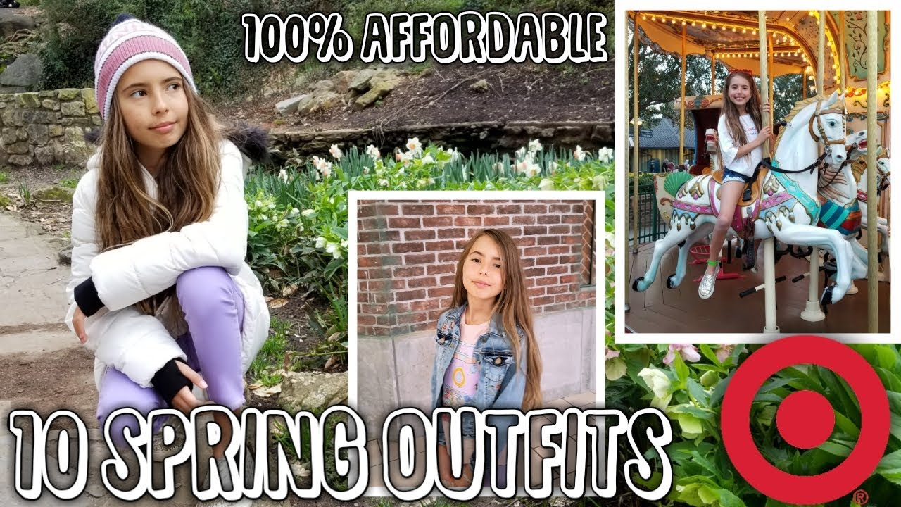 10 SPRING OUTFITS FROM TARGET (LOOKBOOK 2019) 8