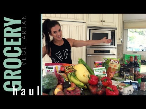 GROCERY HAUL – WHAT I EAT AS A VEGETARIAN BODYBUILDER