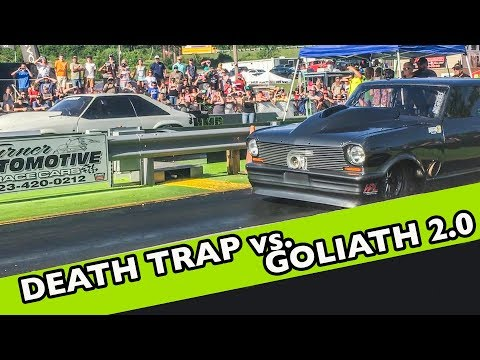 Chuck DEATH TRAP Mustang vs. Daddy Dave GOLIATH 2.0