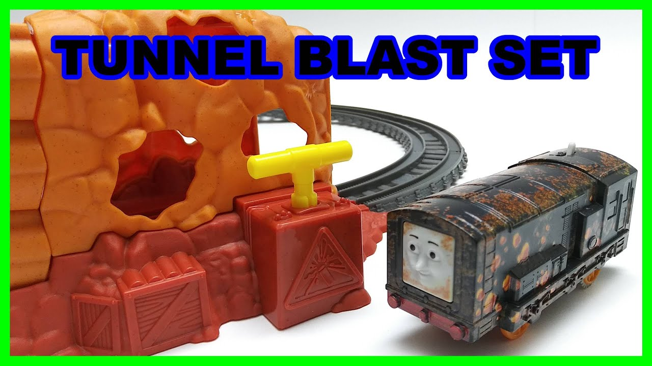 Diesel Tunnel blast set Trackmaster Thomas & friends Thomas y sus amigos 托馬斯和朋友 Томас и друзья