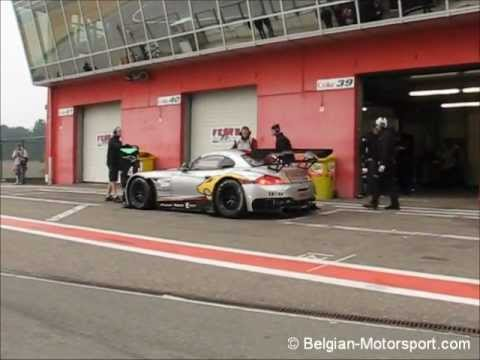 BMW Z4 GT3 Marc VDS loud downshifts