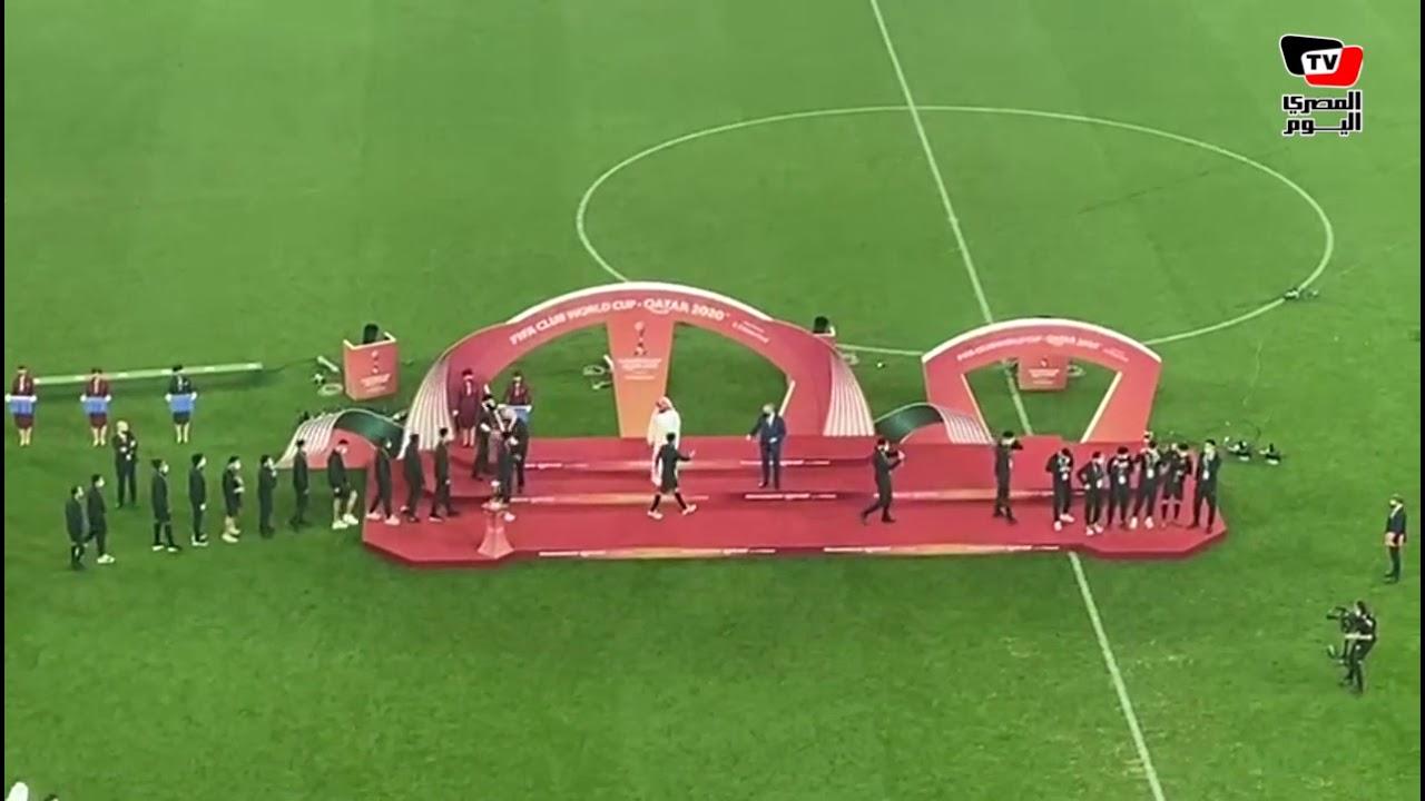 لحظات تتويج النادي الأهلي ببرونزية كأس العالم للأندية