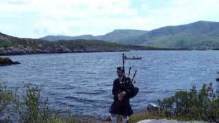 The man from valentia on the pipes 3