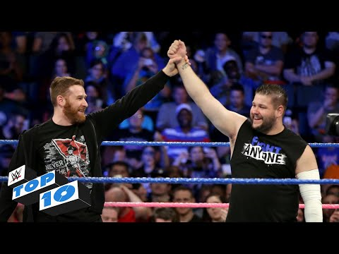 Thumbnail: Top 10 SmackDown LIVE moments: WWE Top 10, October 10, 2017