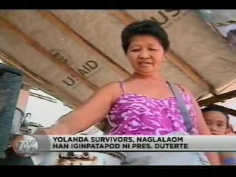 TV Patrol Tacloban - Nov 10, 2016