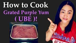 Vlog # 33 Filipina Vlogger in Australia | How to cook Grated Purple Yum ( UBE ) ! | ShaSha Kolme