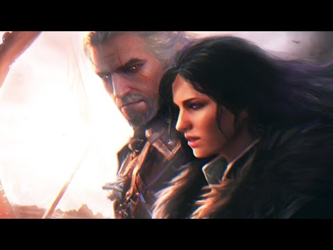The Sorceress and the White Wolf (A Love Story) Geralt and Yennefer 1080p HD