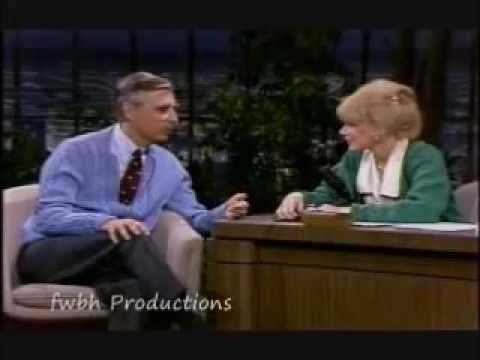 Fred Rogers interviewed by Joan Rivers  ~ 1983