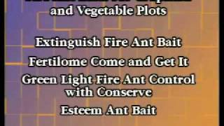 Fire Ant Control Made Easy Video: Fire Ant Baits For Vegetable Gardens And Crops