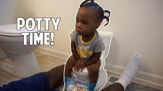 TODDLER'S FIRST: POTTY TRAINING !!!