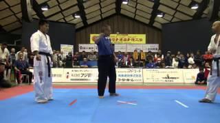 2014年11月23日和歌山市立松下体育館で開催された第29回全関西空手道選...