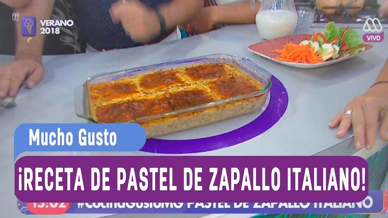 ¡Receta de pastel de zapallo italiano! - Mucho gusto 2018