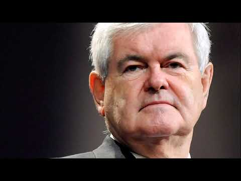 Gingrich on Media Bias Against Trump, Biden's Presidential Run