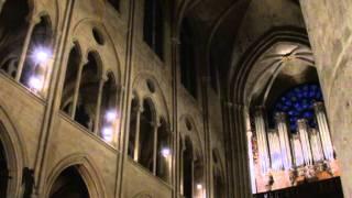Olivier Latry Notre Dame Paris - Dieu parmi nous (O. Messiaen)
