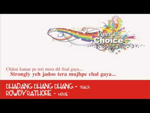 Dhadang Dhang Dhang - Rowdy Rathore