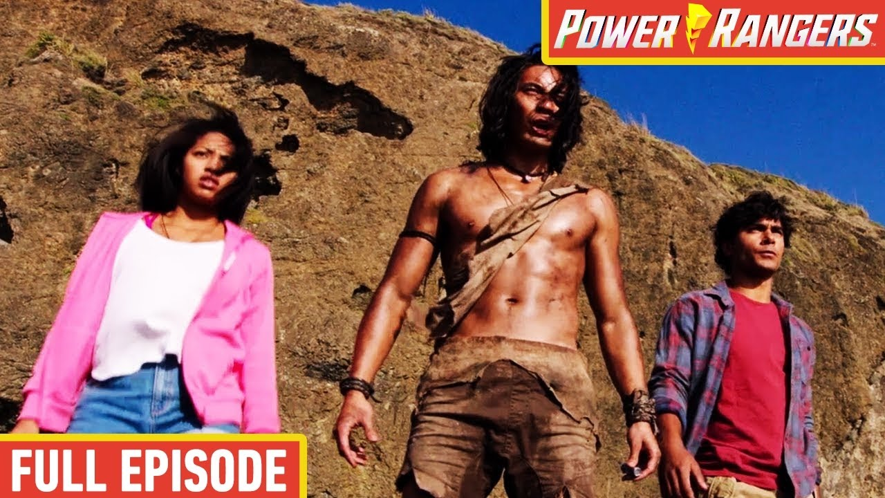 Download Return of the Caveman ⛏️ Dino Charge 🦕 FULL EPISODE   E04   Power Rangers Kids ⚡ Action for Kids
