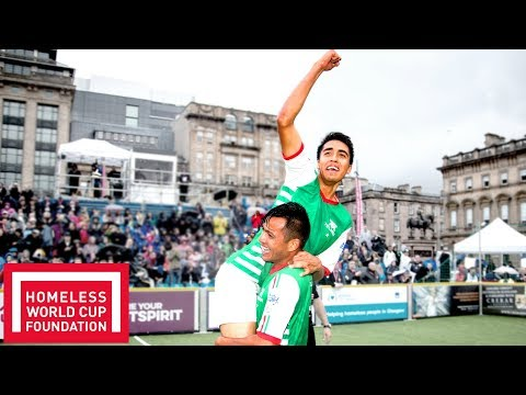 Mexico Win the Mixed Homeless World Cup 2016! | Throwback Thursday