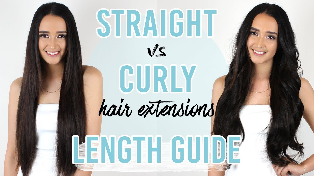 Hair Extensions Straight Vs Curly Length Guide Zala Hair