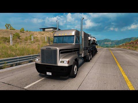 Trailero Mexicano #13 Primer Viaje con el Freightliner FLD 120! Transportando Autos a Zacatecas