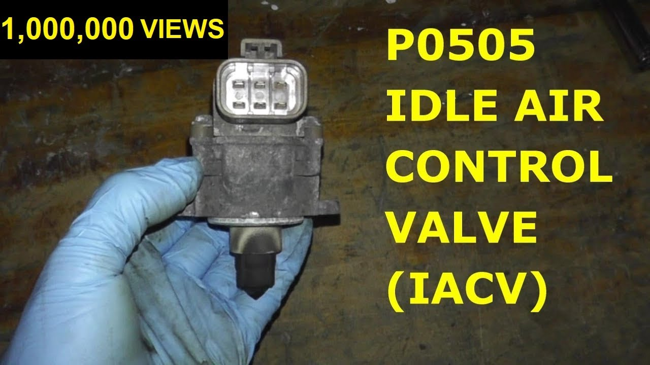 How To Test and Replace Idle Air Control Valve P0505 HD  YouTube