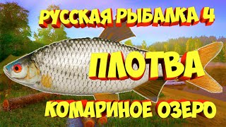 русская рыбалка 4 Плотва Комариное озеро рр4 Алексей Майоров