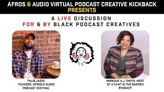 Monique A.J. Smith talks with Afros & Audio