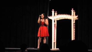 Julia singing All i want for christmas is you by Vince Vance and the Valients