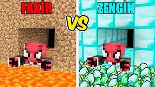 ZENGİN TÜNEL VS FAKİR TÜNEL! 😱 - Minecraft