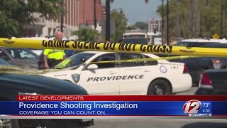 Boy, 15, dies after being shot outside Providence school