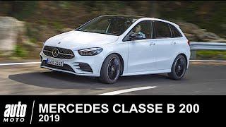 2019 Mercedes Classe B 200 163 ch ESSAI POV Auto-Moto.com