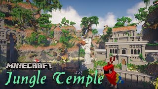 Jungle Temple & City | Amplified Jungle Biome Transformation | Minecraft Timelapse